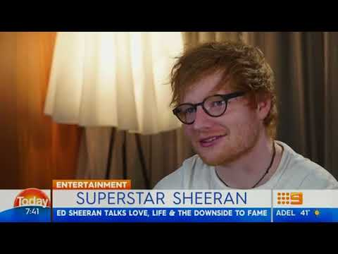 Ed Sheeran talks about his relationship with Cherry Seaborn