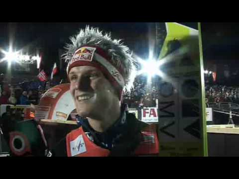Interview with Thomas Morgenstern in Willingen