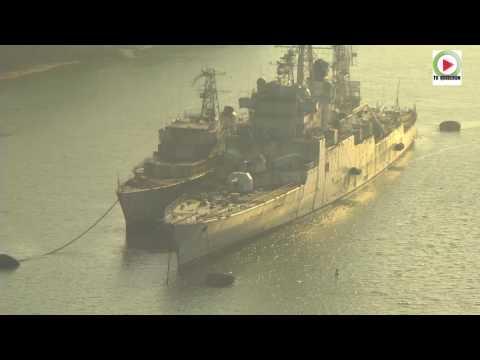 Landevennec : Cimetiere de bateaux militaires - Bretagne Télé