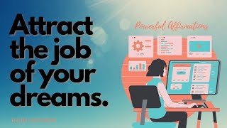 EXTREMELY FAST AND POWERFUL! Attract the Perfect Job and Improve your Skills - Rain Sounds