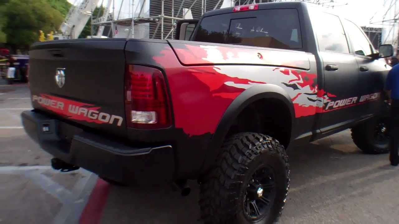 Ram Trucks Introduces The 2013 Power Wagon At The Texas