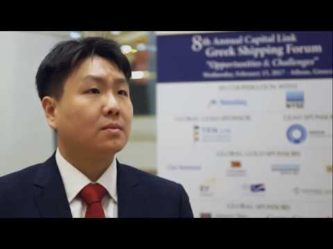 8th Annual Greek Shipping Forum Interview-James Jang