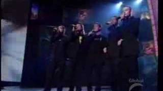 The guys' amazing acapella Bee Gee's medley, performed here in 2003...