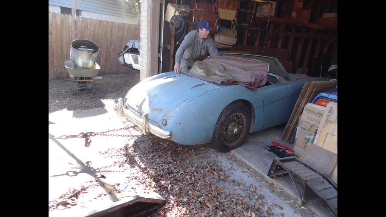1954 Austin Healey 100 4 Texas Garage Find