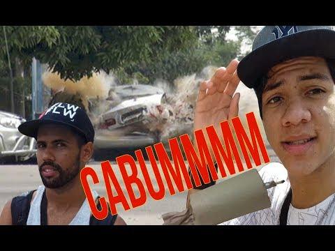EXPLODIMOS UM CARRO COM UMA SUPER BOMBA DE SÃO JOÃO