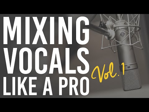 Mixing Vocals Like A Pro Vol.1 | The Producer's Blog