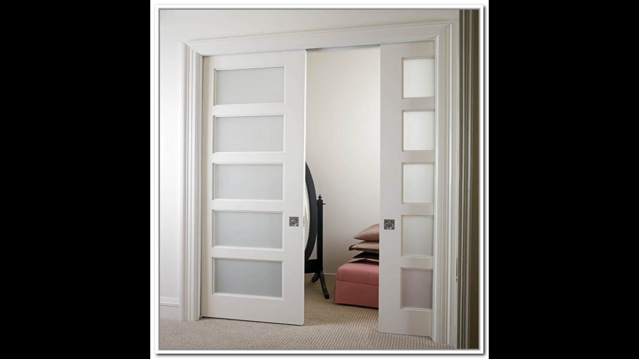 French doors interior french doors interior home depot for Double pocket door home depot