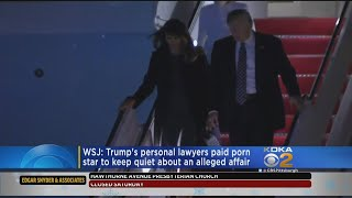 Report: Trump Lawyer Brokered $130,000 Payment To Porn Star