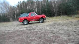 Ford Bronco 5.0 V8 tuning