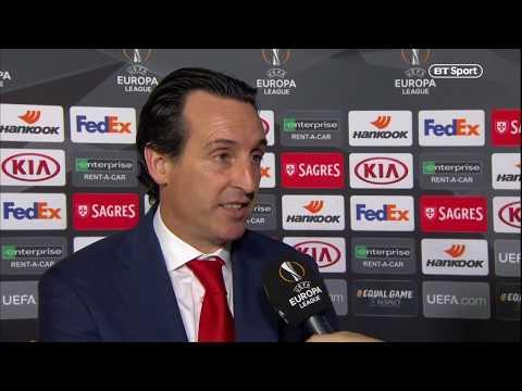 Unai Emery reacts to Arsenal's 11-match winning run   Sporting vs Arsenal   Post-match interview