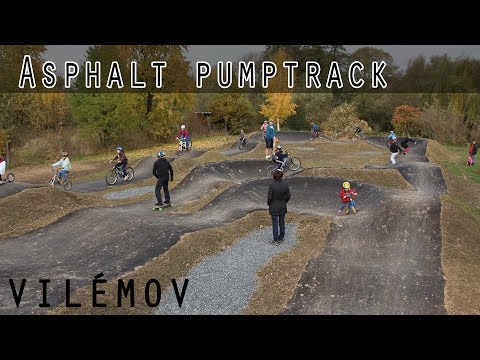 OPENING NEW ASPHALT PUMPTRACK IN VILÉMOV!