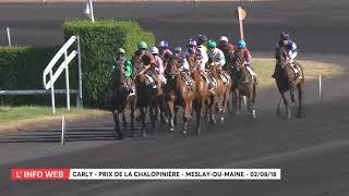 Vidéo de la course PMU PRIX DE LA CHALOPINIERE