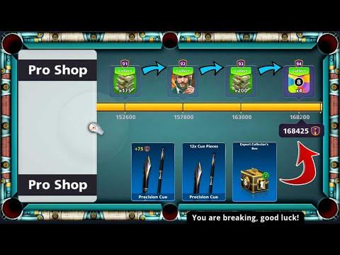 8 ball pool Pro Shop ЁЯШГ 168425 CCP Level 94 I want Diamond lll