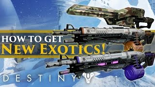 Destiny - How To Get The New Icebreaker and Void/Solar lord Exotics!
