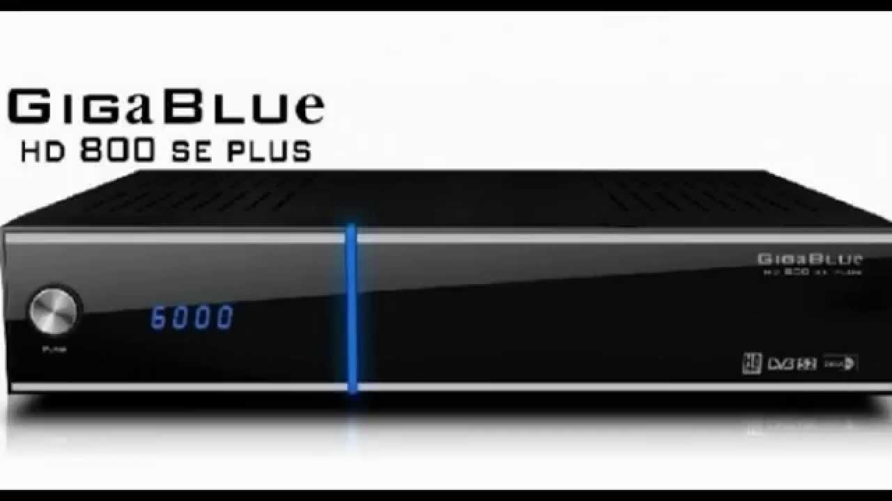 New Drivers: GigaBlue GB800SE HD Receiver