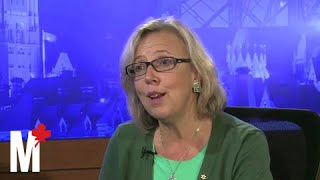 Elizabeth May on her friendship with Bill Clinton