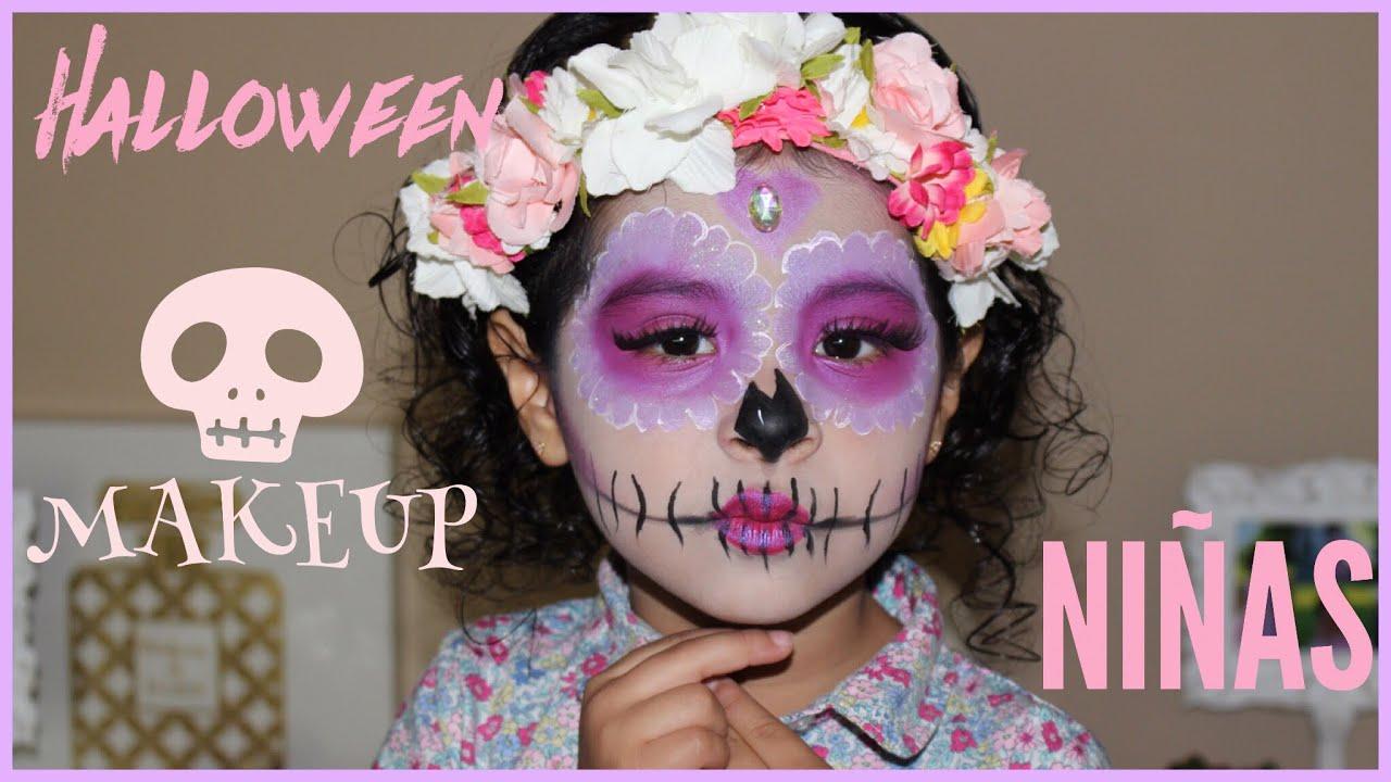 Maquillaje De Catrina Sencillo Para Ninas Y De Media Cara Vanidades