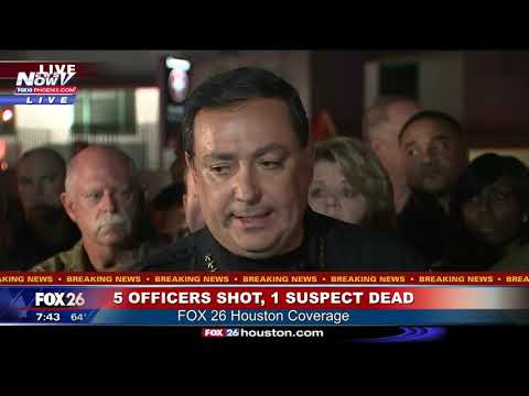 BREAKING: Houston Police Chief Details Incident That Injured 5 Narcotics Officers (FNN)