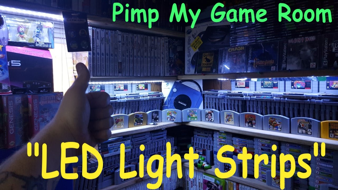 Game Room Led Light Strips Buying Guide - Pimp My Game Room! - YouTube for Led Strip Lights Gaming Room  67qdu
