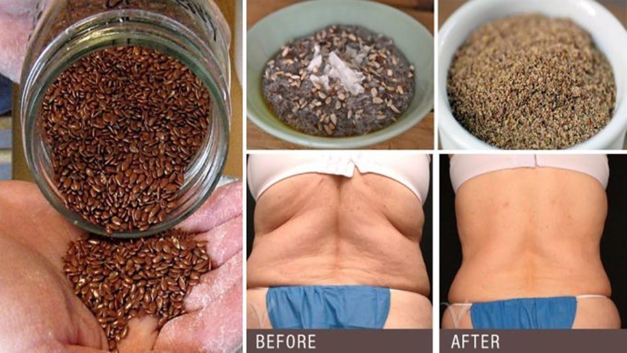 clavo y semillas de lino