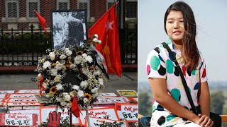video: Woman shot in the head during Myanmar anti-coup protest dies