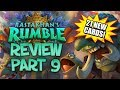 RASTAKHAN'S RUMBLE REVIEW - Part 9! | Card Review | Hearthstone