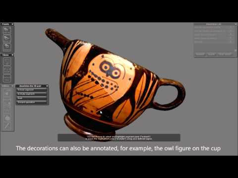 3DSA Project - annotation and semantic reasoning of 3D cultural heritage artefacts on the Web