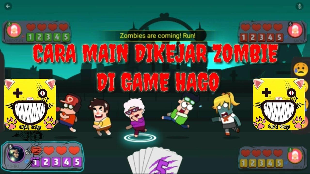 CARA MAIN DIKEJAR ZOMBIE DI GAME HAGO!!! - YouTube