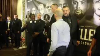 HOSTILE IN LIVERPOOL ! - OHARA DAVIES & DERRY MATHEWS TRADE INSULTS IN HEATED HEAD TO HEAD!