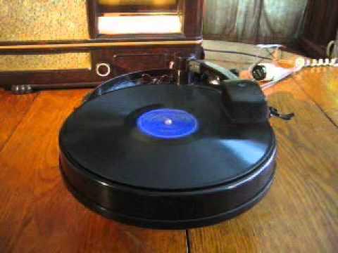 Phonographe Pick up PHILIPS 3902 porteldisc de 1939 mp3
