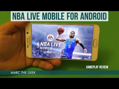 NBA Live Mobile For Android Gameplay Review