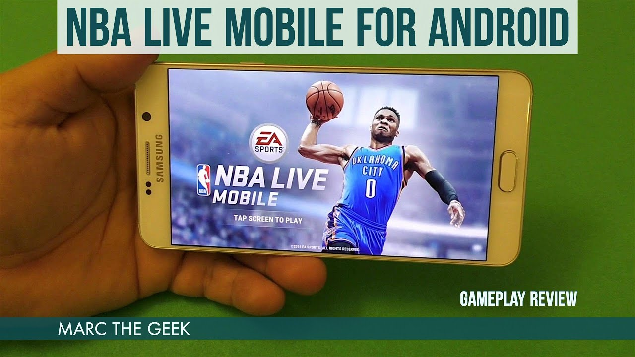 NBA Live Mobile for Android Gameplay Review - YouTube