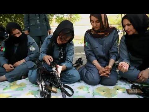 Women struggle in Afghan police