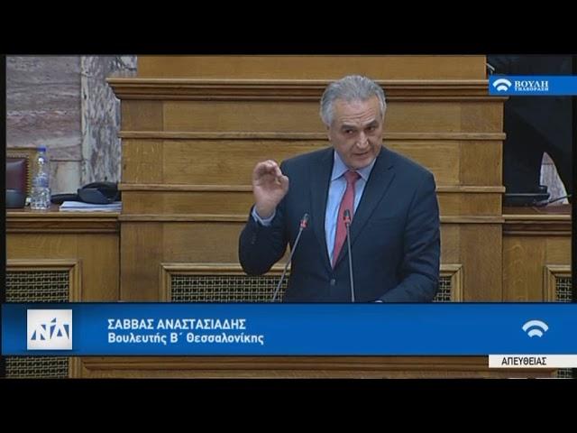 Ο Σ. Αναστασιάδης στην Επιτροπή Εξωτερικών και Άμυνας της Βουλής 22 1 19