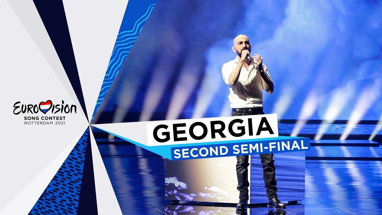 Tornike Kipiani - You - LIVE - Georgia 🇬🇪 - Second Semi-Final - Eurovision 2021