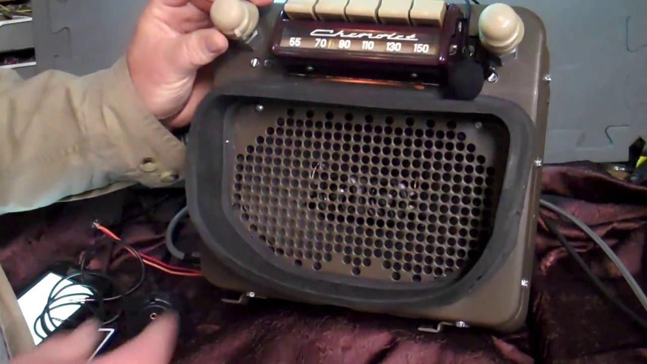 Thru Chevy Pickup Truck Original Am Radio