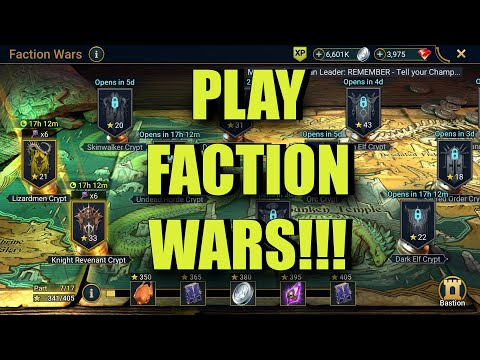 Why You Should Play Faction Wars | Raid: Shadow Legends