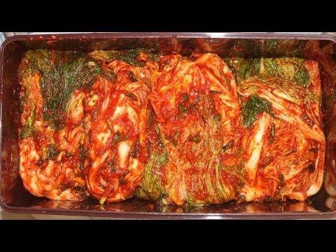 [ENG SUB]김장김치담그는법 - 절이기부터 담는과정까지 이 레시피 하나면 끝 : Korean Traditional Kimchi Recipe
