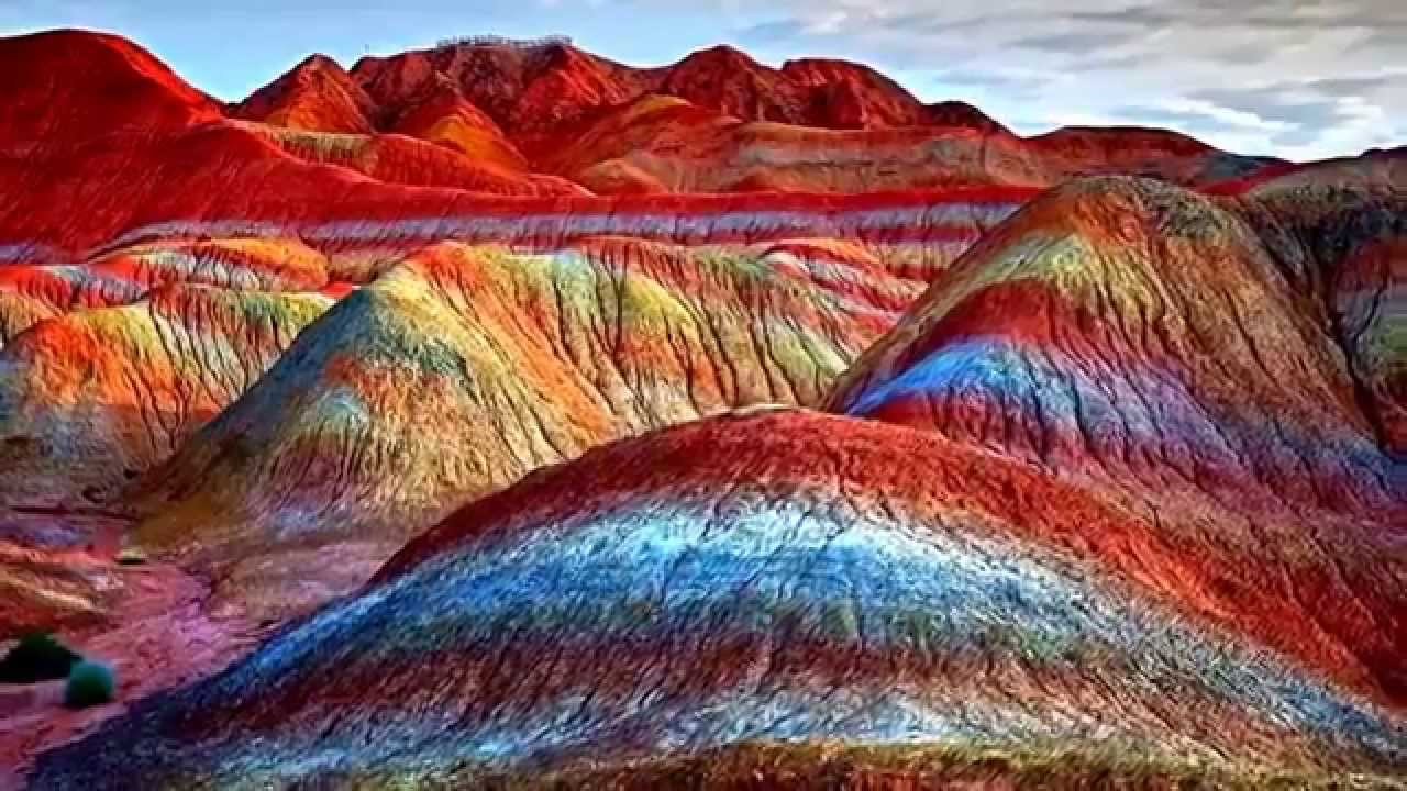 Image result for The Rainbow Mountains, China hd image