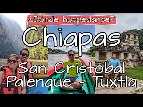 Dónde hospedarse en Chiapas ✅ ¿Hoteles en San Cristóbal, Palenque o Tuxtla? 🛎️ Viajar a Chiapas Tips