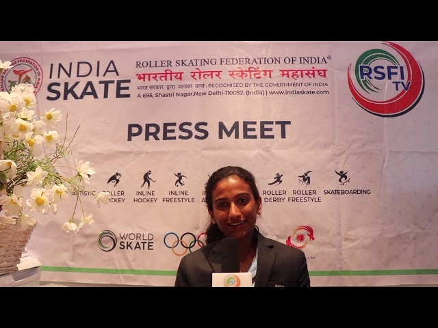 A Memorable Skating message by  Skater AARTHY K RAJ  .