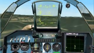 Su-27 vs 2 F-18. Su-27 Flanker 2.5