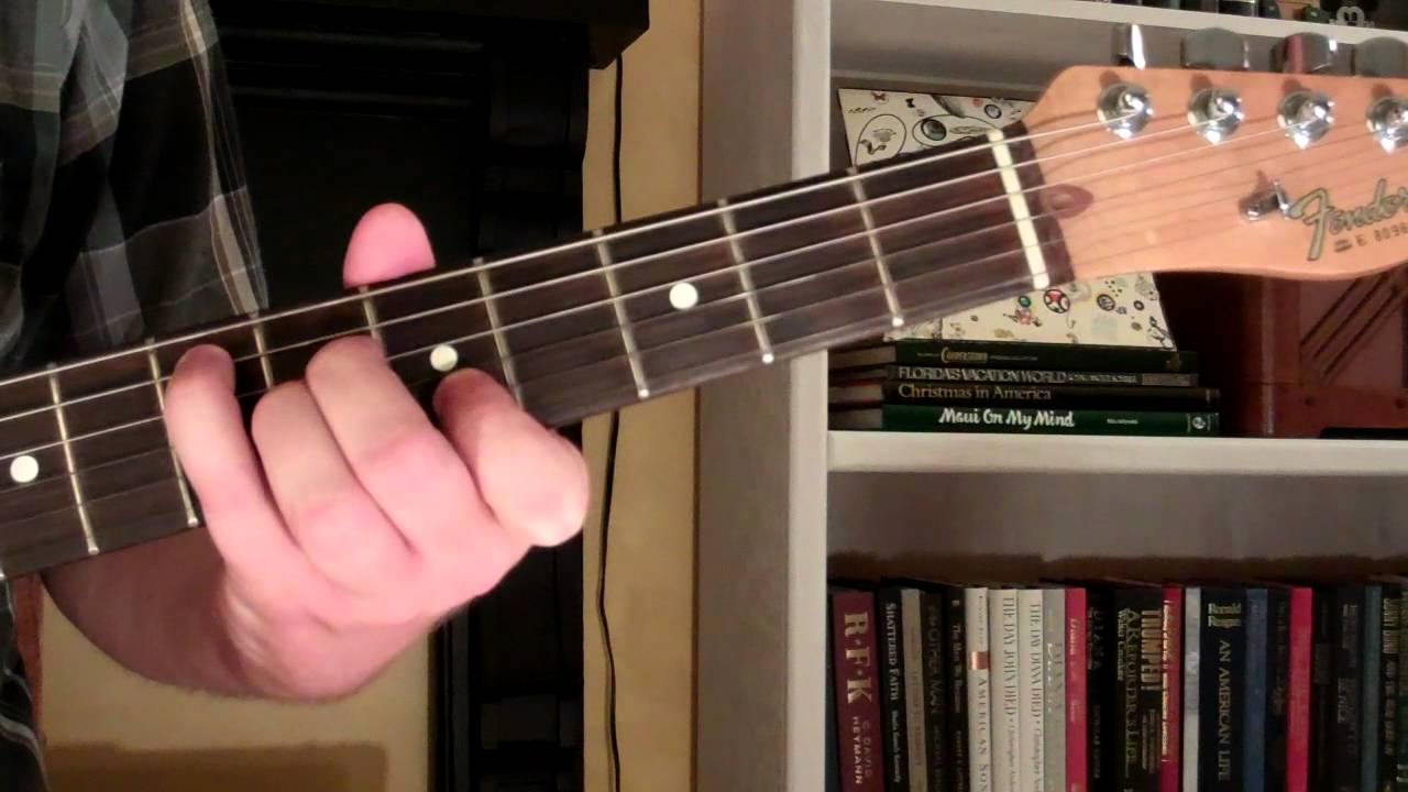 How To Play The E6 Chord On Guitar E Sixth 6th Youtube