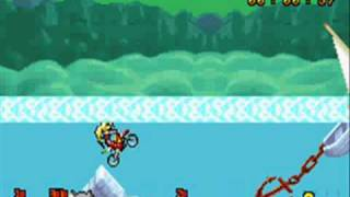 Motocross maniacs advance(GBA)