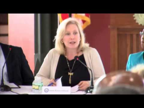 Gillibrand part of round table on sexual assau