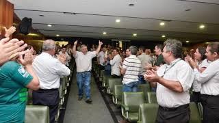 Eleito a Deputado Federal, Zé Mário reassume Presidência do Sistema Faeg Senar.