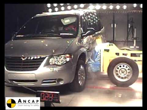 chrysler grand voyager 2007 ancap crash test youtube. Black Bedroom Furniture Sets. Home Design Ideas