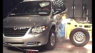 Краш-тест и видео краш-тест Chrysler Voyager (Крайслер Воиагер)