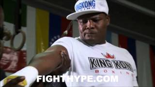 LUIS ORTIZ TRAINING FOR BRYANT JENNINGS CLASH