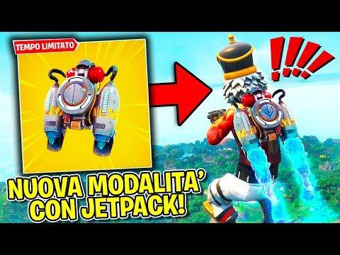 Fortnite ITA - LIVE - LA NUOVA MODALITA' CON IL JETPACK!!